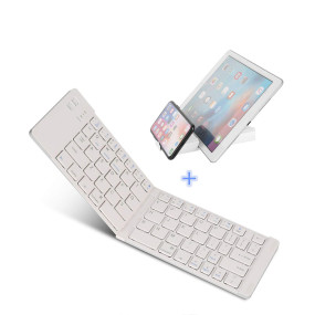 slim folding wireless keyboard For iPad Keyboard for phone Notebook Desktop Computer