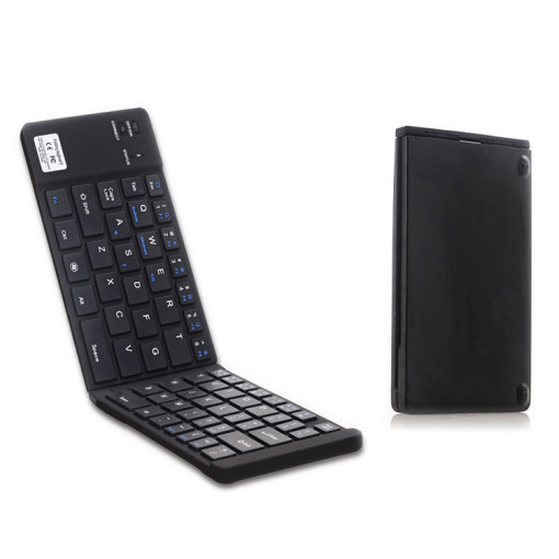 Ultru Slim Folding Portable Wireless Keyboard For Windows Android Tablet PC