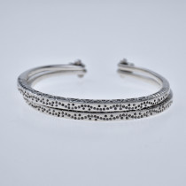Fine Silver Bracelets - Sky Collection - Double Wind Blows