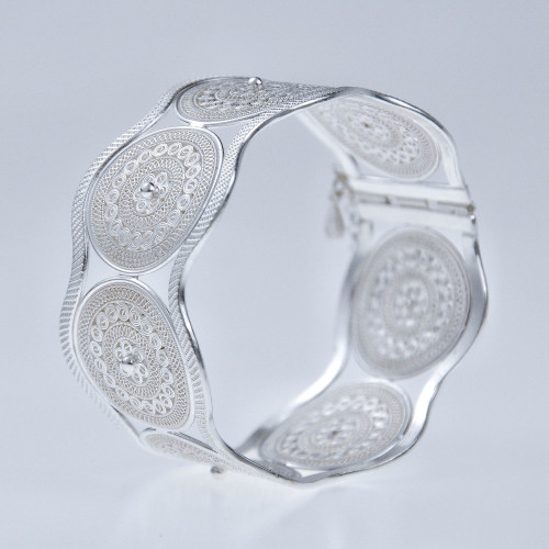 Filigree Bracelet- Sky Collection - Sun Drum