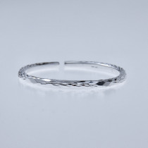 Fine Silver Bracelet - Sky Collection - Rain