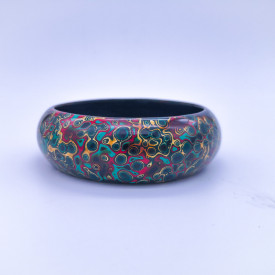 Pingyao Lacquer Bracelet - Colorful Life
