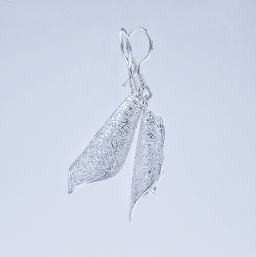 Filigree Earrings- Forest Collection - Blossom