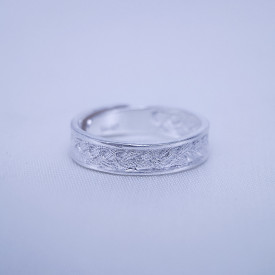 Filigree Ring - Forest Collection - Wheat