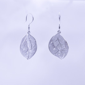 Filigree Earrings - Forest Collection - Double Leaves