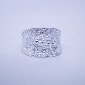 Filigree Ring - Forest Collection - Bean