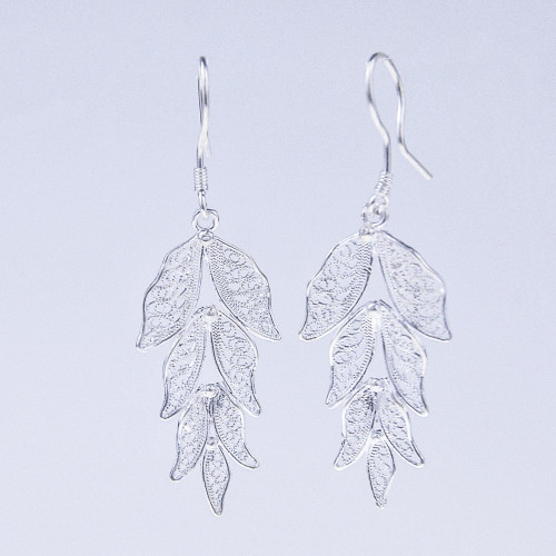 Filigree Earrings - Forest Collection - Leaves