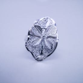 Filigree Ring- Forest Collection - Lotus
