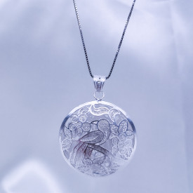 Filigree Necklace - Forest Collection - Spring