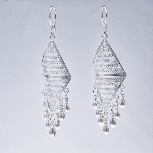Filigree Earrings - Sky Collection - Clouds