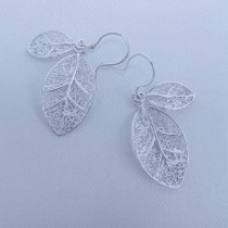 Filigree Ring - Forest Collection - Small Leaves