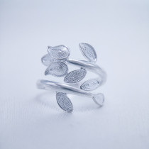 Filigree Ring - Forest Collection - Leaves
