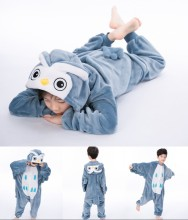 Kids Owl Onesie Kigurumi Pajamas Kids Animal Costumes for Unisex Children