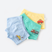 3 Pack Print Toddler Boys Boxer Briefs Comfortable Soft Cotton Underwear
