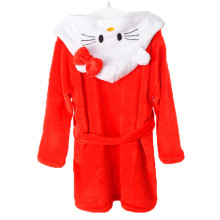 Kids Hello Kitty Soft Bathrobe Sleepwear Comfortable Loungewear