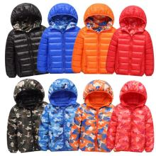Toddler Boy Double-faced Zipper Lightweight Packable Jacket Outerwear