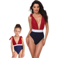 Mommy and Me Matching Swimwear 3 Color Matching Swimsuit