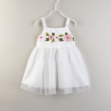 Girls Lace Flowers Slip Tutu Dress