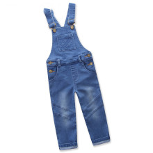 Girls Denim Jumpsuits Overalls