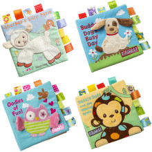 Baby's First Story Cloth Book Fun Animals