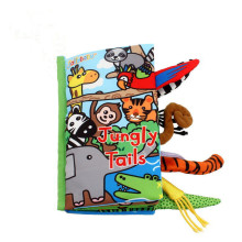 Baby's First 3D Jungle Tails Cloth Book
