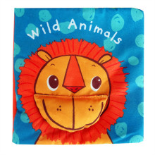 Baby's First Cloth Book Learn Wild Animals