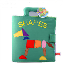 Baby's First Touch and Feel Soft Cloth Book Learn Shapes