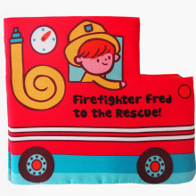 Baby's First Cloth Book Learn Fire Fighting Truck