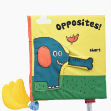 Baby's First 3D Opposites Words Cloth Book