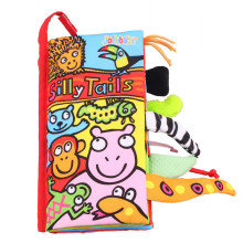 Baby's First 3D Silly Animals' Tails Cloth Book
