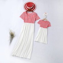 Mommy and Me Stripes Family Matching Maxi Dresses