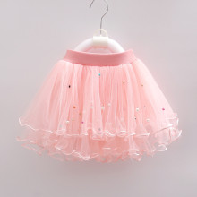 Kid Girl Colorful Pearls Tutu Skirt
