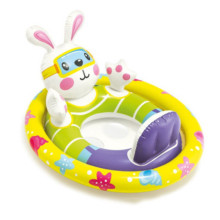 Toddler Kids Pool Floats Inflated Swimming Rings Tortoise Rabbit Sitting Swimming Circle