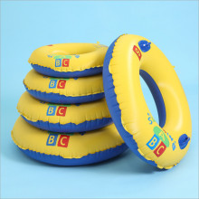 Toddler Kids Pool Floats Inflated Swimming Yellow Letters Swimming Circle