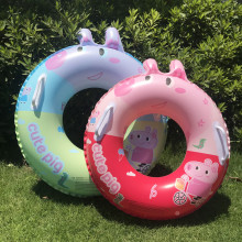 Toddler Kids Pool Floats Inflatable Swimming Rings Print Peppa Pig