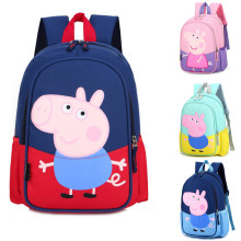 Kindergarten School Backpack Peppa Pig Bag Bookbag For Toddlers Kids
