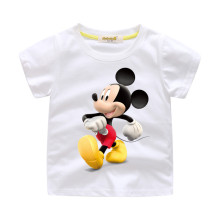 Boys Print Mickey Mouse Cotton T-shirt