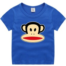 Boys Print Paul Frank Monkey Cotton T-shirt