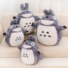 Grey Totoro Soft Stuffed Plush Animal Doll for Kids Gift