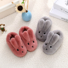Toddlers Kids 3D Rabbit Flannel Warm Winter Home House Slippers