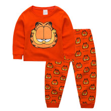 Kids Garfield Pajamas Sleepwear Set Long-sleeve Cotton Pjs