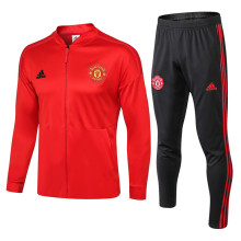 18/19 Man Utd Red Jacket Tracksuit