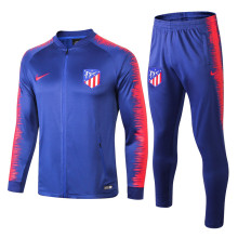 18/19 Atletico Madrid Big Blue Jacket Tracksuit