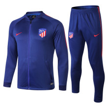 18/19 Atletico Madrid Blue Jacket Tracksuit