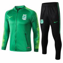 2019 Atletico Nacional Green Jacket SuitFull Sets