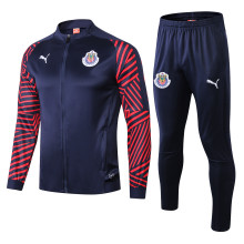 Guadalajara Black Jacket Tracksuit Full Sets 2019