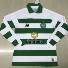 19/20 Celtic Home Green And White LS Soccer Jersey