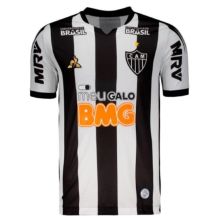 2019/20 Atletico Mineiro Black And White Fans Soccer Jersey
