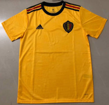 2018 Belgium Away Yellow World Cup Fan Jersey