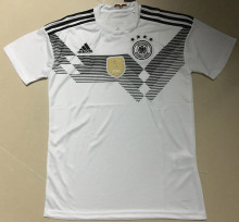 2018 Germany Home White World Cup Fan Jersey